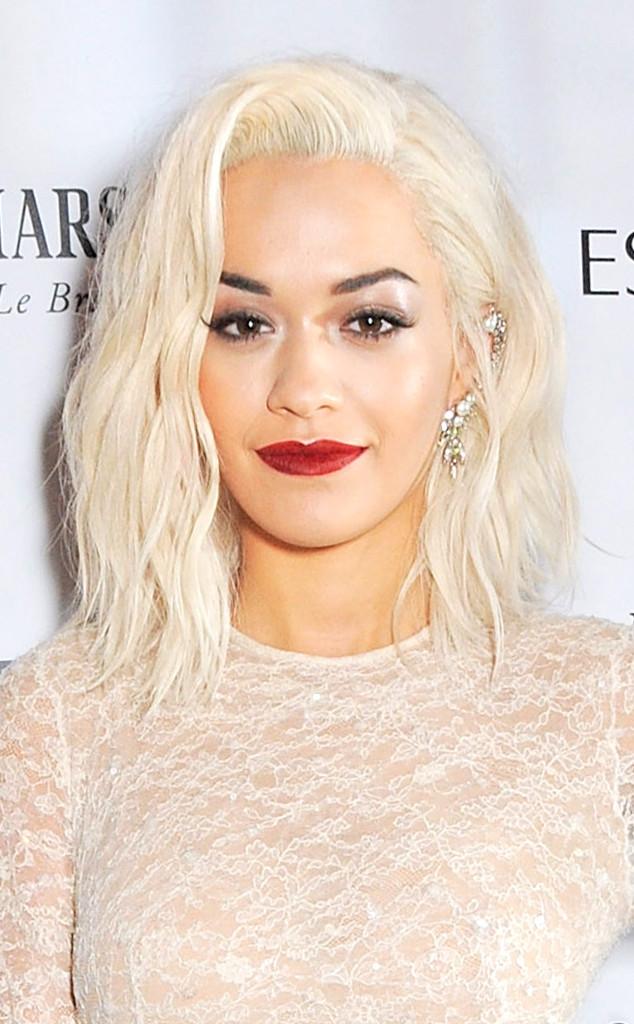 platinum-blonde-hairstyle-Rita-Ora 16 Celebrity Hottest Hair Trends for Summer 2017