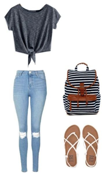 school-outfit-ideas-1 Fabulous School Outfit Ideas for Teenage Girls 2017/2018