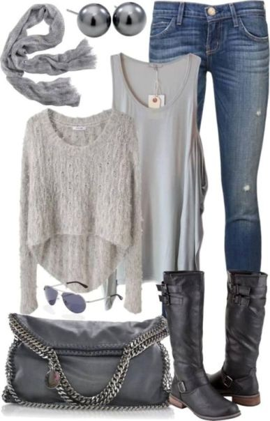 school-outfit-ideas-10 Fabulous School Outfit Ideas for Teenage Girls 2017/2018