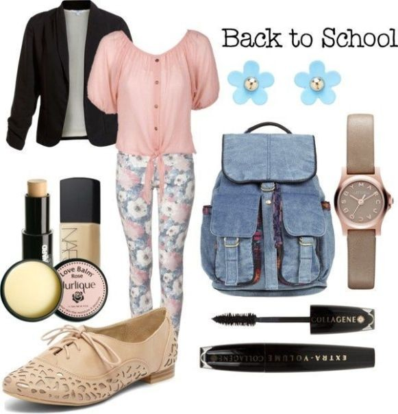 school-outfit-ideas-100 Fabulous School Outfit Ideas for Teenage Girls 2020