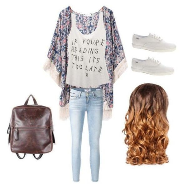 school-outfit-ideas-101 Fabulous School Outfit Ideas for Teenage Girls 2017/2018