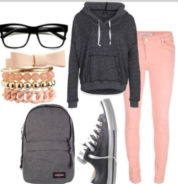 school-outfit-ideas-102 Fabulous School Outfit Ideas for Teenage Girls 2017/2018