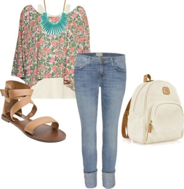 school-outfit-ideas-103 Fabulous School Outfit Ideas for Teenage Girls 2020