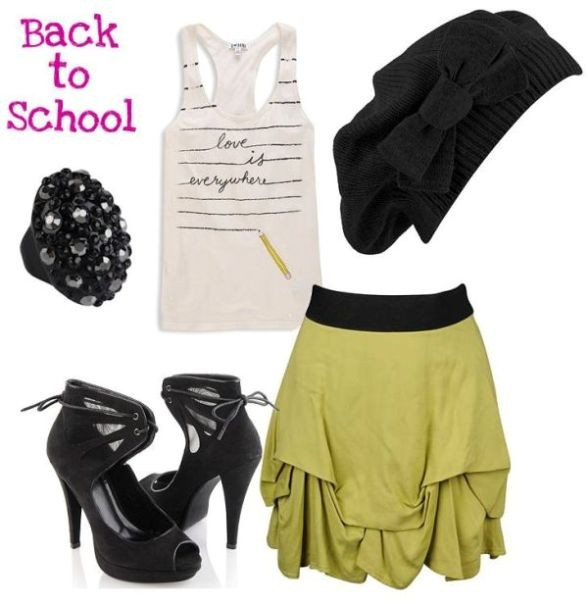 school-outfit-ideas-104 Fabulous School Outfit Ideas for Teenage Girls 2020