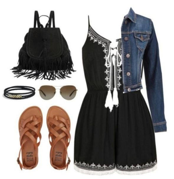 school-outfit-ideas-105 Fabulous School Outfit Ideas for Teenage Girls 2020