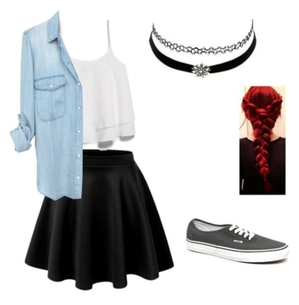 school-outfit-ideas-106 Fabulous School Outfit Ideas for Teenage Girls 2020