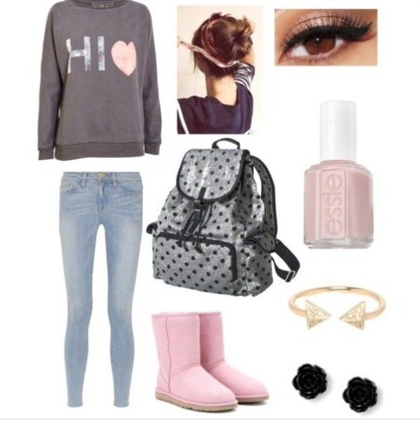 school-outfit-ideas-109 Fabulous School Outfit Ideas for Teenage Girls 2017/2018