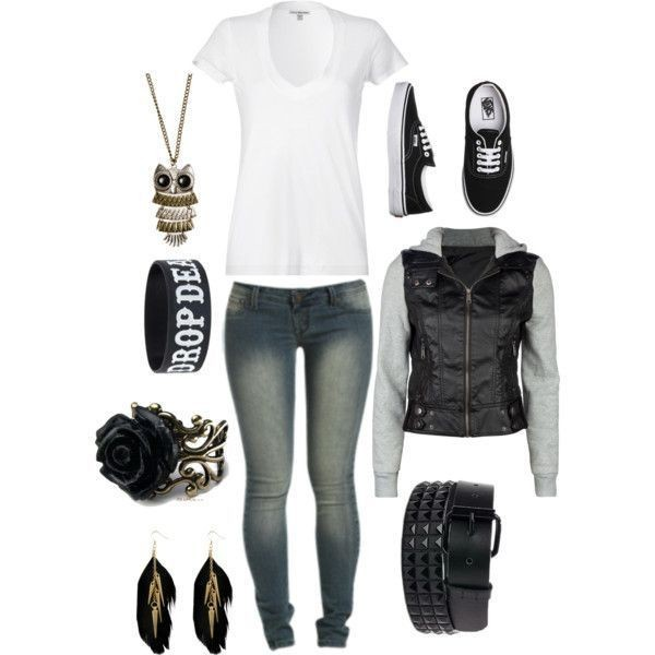 school-outfit-ideas-112 Fabulous School Outfit Ideas for Teenage Girls 2020