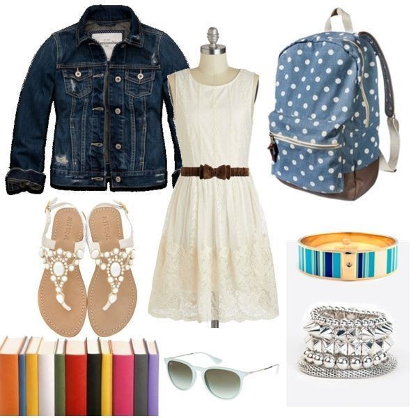 school-outfit-ideas-113 Fabulous School Outfit Ideas for Teenage Girls 2017/2018