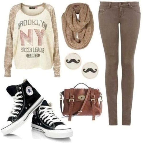 school-outfit-ideas-115 Fabulous School Outfit Ideas for Teenage Girls 2020