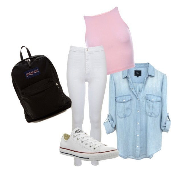 school-outfit-ideas-118 Fabulous School Outfit Ideas for Teenage Girls 2017/2018