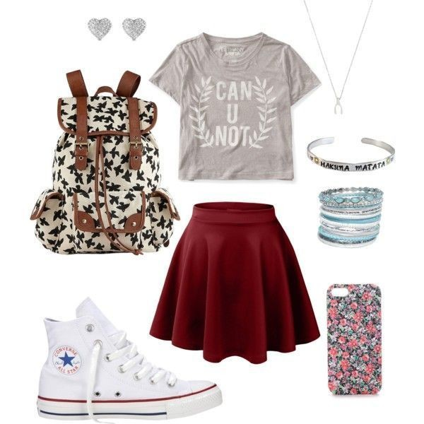 school-outfit-ideas-123 Fabulous School Outfit Ideas for Teenage Girls 2017/2018