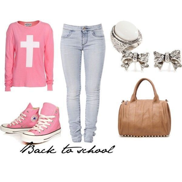 school-outfit-ideas-124 Fabulous School Outfit Ideas for Teenage Girls 2020