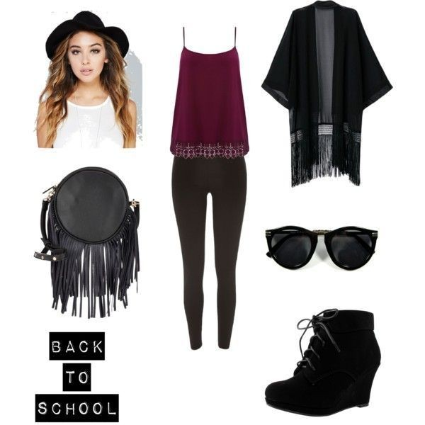 school-outfit-ideas-129 Fabulous School Outfit Ideas for Teenage Girls 2020
