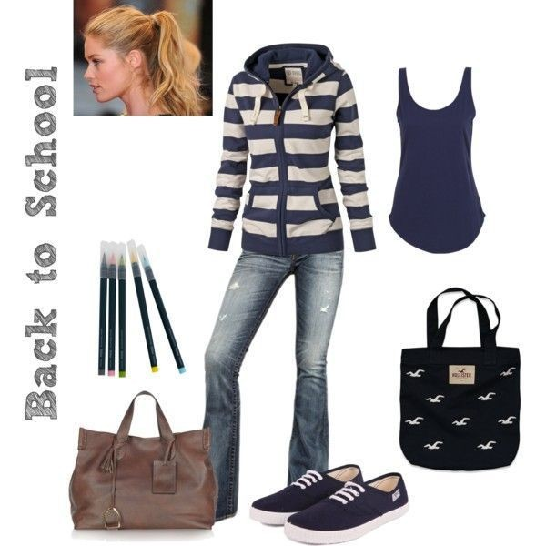 school-outfit-ideas-130 Fabulous School Outfit Ideas for Teenage Girls 2020