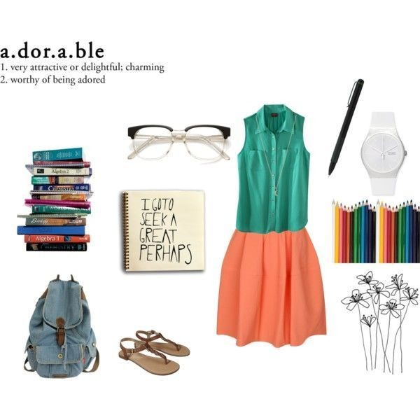 school-outfit-ideas-131 Fabulous School Outfit Ideas for Teenage Girls 2020