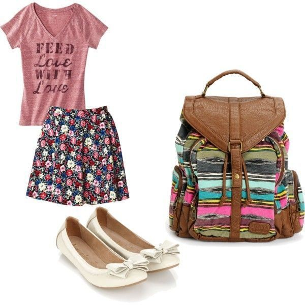 school-outfit-ideas-132 Fabulous School Outfit Ideas for Teenage Girls 2020