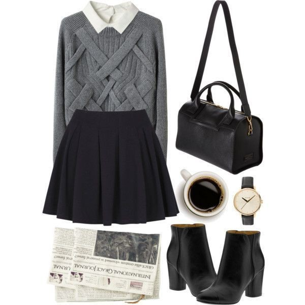 school-outfit-ideas-134 Fabulous School Outfit Ideas for Teenage Girls 2020