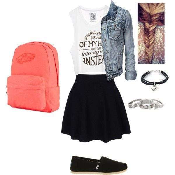 school-outfit-ideas-135 Fabulous School Outfit Ideas for Teenage Girls 2020