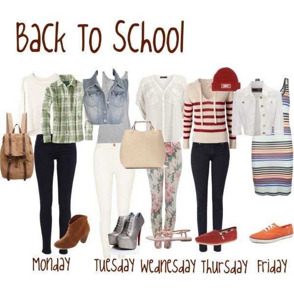 school-outfit-ideas-136 Fabulous School Outfit Ideas for Teenage Girls 2020