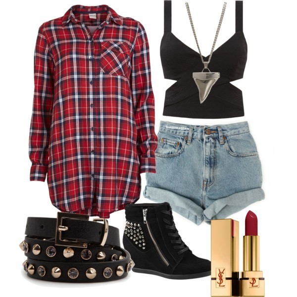 school-outfit-ideas-140 Fabulous School Outfit Ideas for Teenage Girls 2020