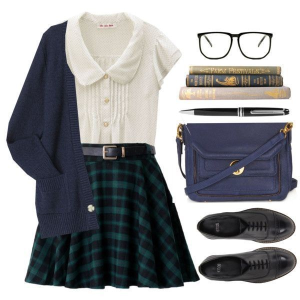 school-outfit-ideas-144 Fabulous School Outfit Ideas for Teenage Girls 2020
