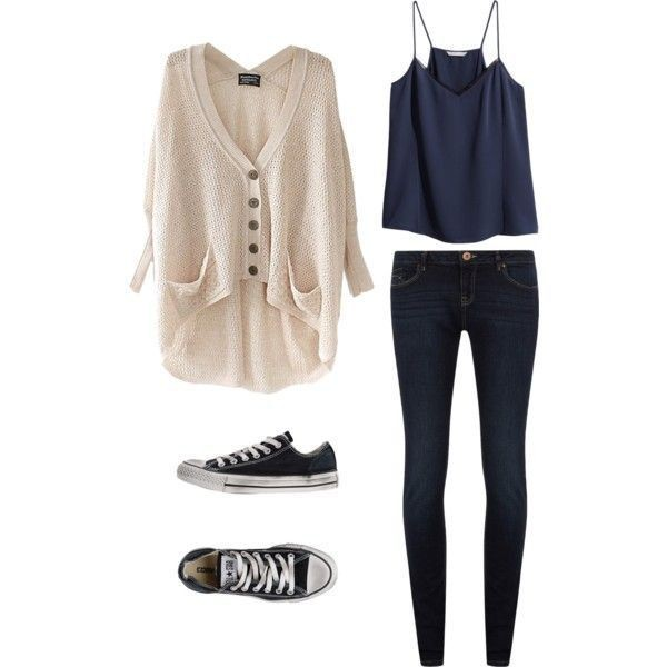 school-outfit-ideas-145 Fabulous School Outfit Ideas for Teenage Girls 2020