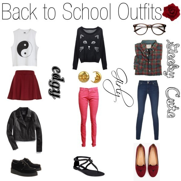 school-outfit-ideas-147 Fabulous School Outfit Ideas for Teenage Girls 2020
