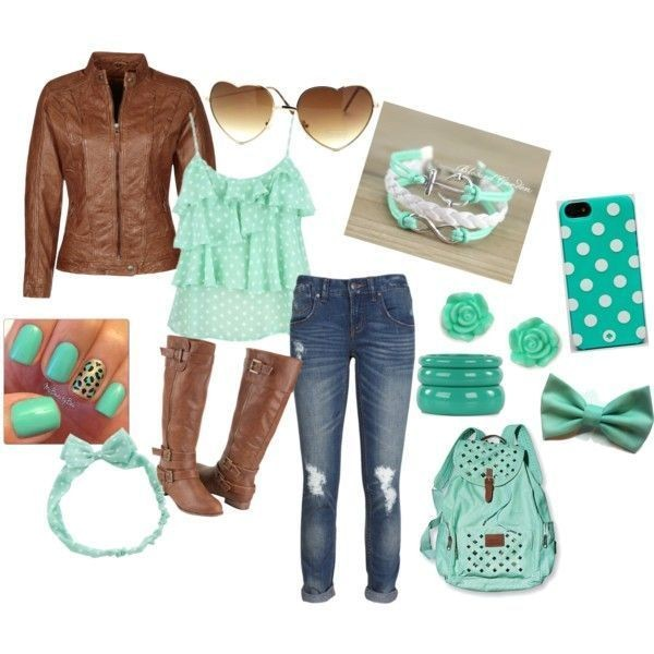school-outfit-ideas-149 Fabulous School Outfit Ideas for Teenage Girls 2020