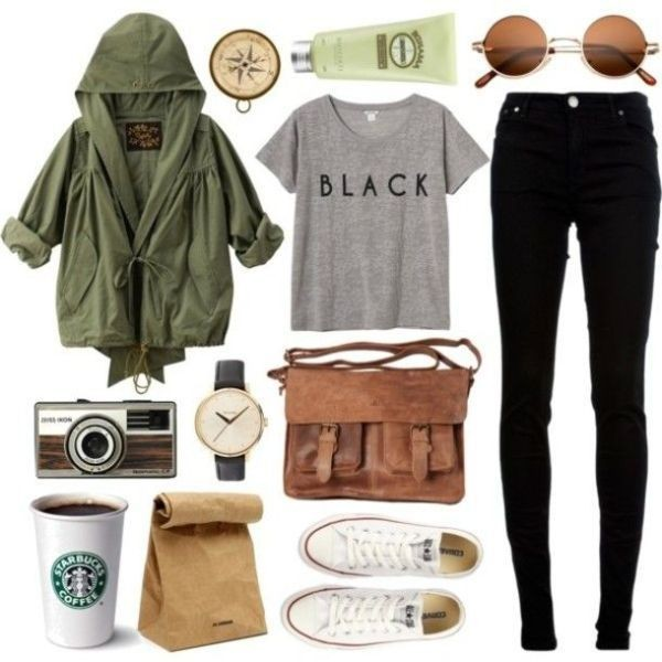 school-outfit-ideas-150 Fabulous School Outfit Ideas for Teenage Girls 2017/2018