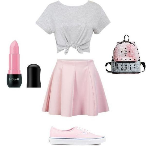 school-outfit-ideas-152 Fabulous School Outfit Ideas for Teenage Girls 2020