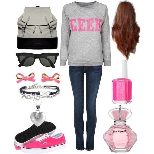 school-outfit-ideas-155 Fabulous School Outfit Ideas for Teenage Girls 2020