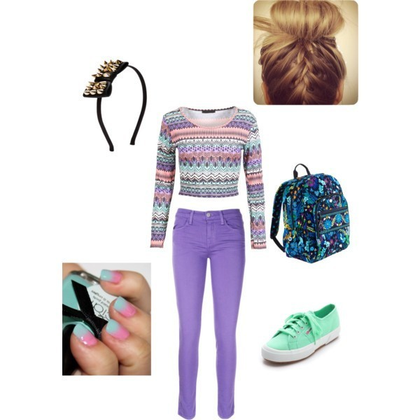 school-outfit-ideas-157 Fabulous School Outfit Ideas for Teenage Girls 2020