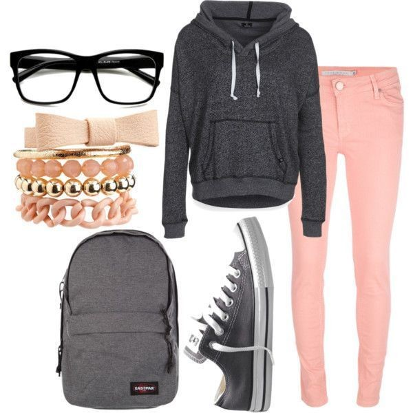 school-outfit-ideas-158 Fabulous School Outfit Ideas for Teenage Girls 2020