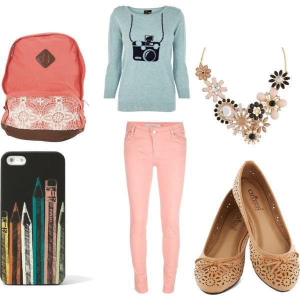 school-outfit-ideas-163 Fabulous School Outfit Ideas for Teenage Girls 2020