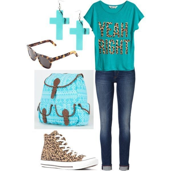 school-outfit-ideas-168 Fabulous School Outfit Ideas for Teenage Girls 2020