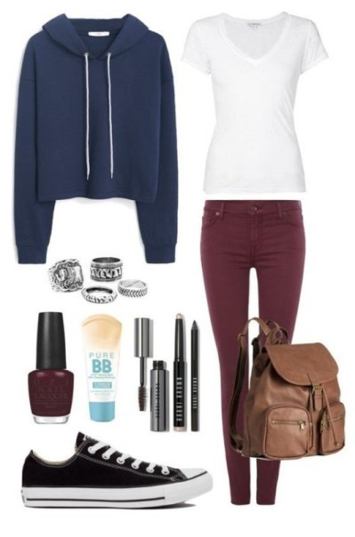 school-outfit-ideas-17 Fabulous School Outfit Ideas for Teenage Girls 2017/2018
