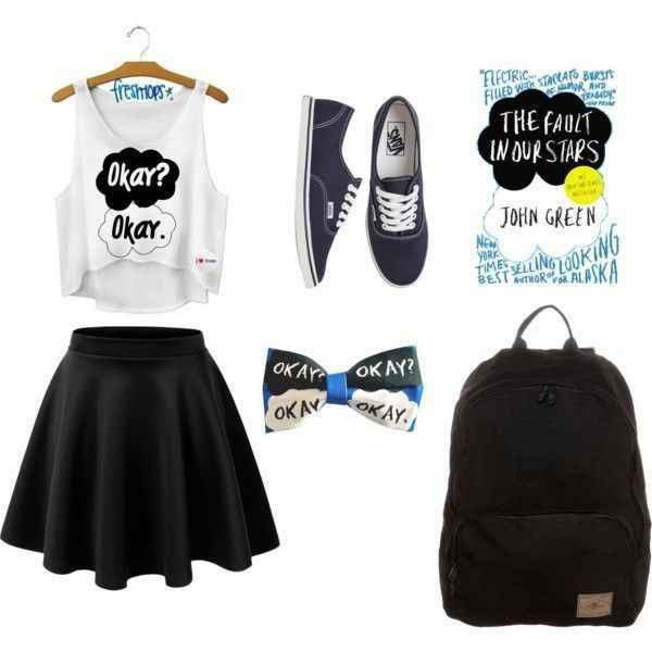 school-outfit-ideas-170 Fabulous School Outfit Ideas for Teenage Girls 2020
