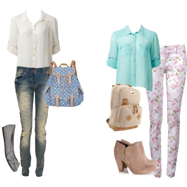 school-outfit-ideas-173 Fabulous School Outfit Ideas for Teenage Girls 2020