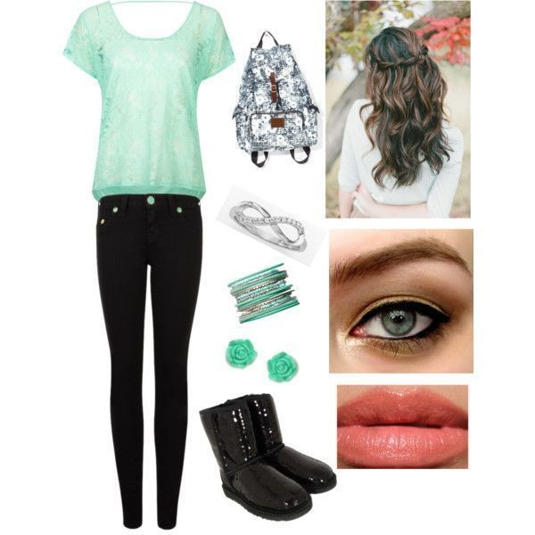 school-outfit-ideas-174 Fabulous School Outfit Ideas for Teenage Girls 2020