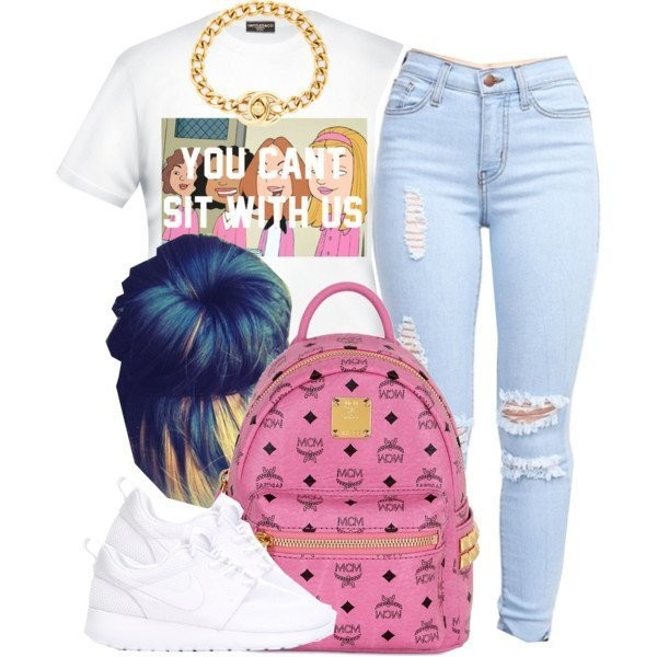 school-outfit-ideas-175 Fabulous School Outfit Ideas for Teenage Girls 2020