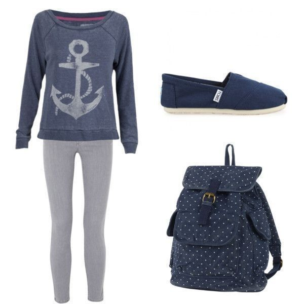 school-outfit-ideas-179 Fabulous School Outfit Ideas for Teenage Girls 2017/2018