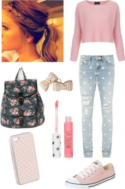 school-outfit-ideas-18 Fabulous School Outfit Ideas for Teenage Girls 2017/2018