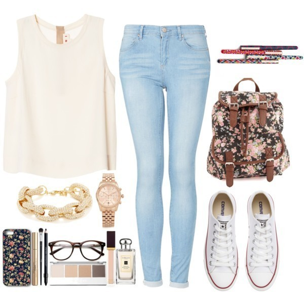 school-outfit-ideas-183 Fabulous School Outfit Ideas for Teenage Girls 2020