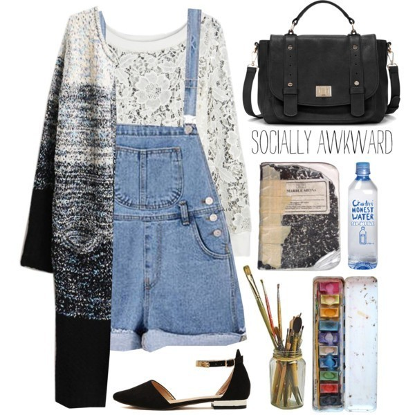 school-outfit-ideas-185 Fabulous School Outfit Ideas for Teenage Girls 2020