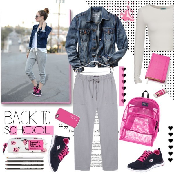 school-outfit-ideas-186 Fabulous School Outfit Ideas for Teenage Girls 2020