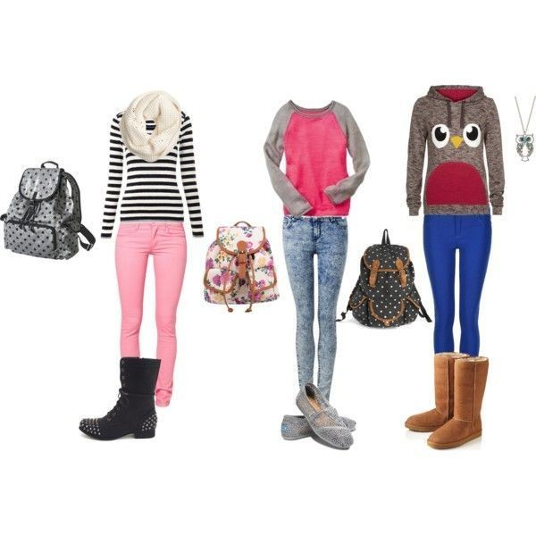 school-outfit-ideas-191 Fabulous School Outfit Ideas for Teenage Girls 2017/2018