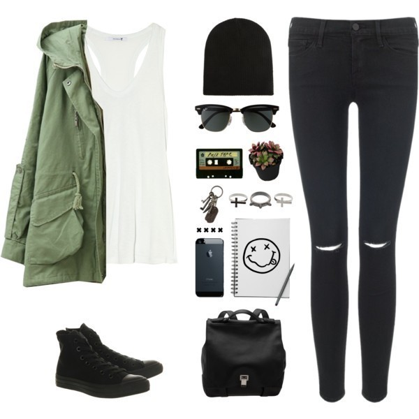 school-outfit-ideas-199 Fabulous School Outfit Ideas for Teenage Girls 2020