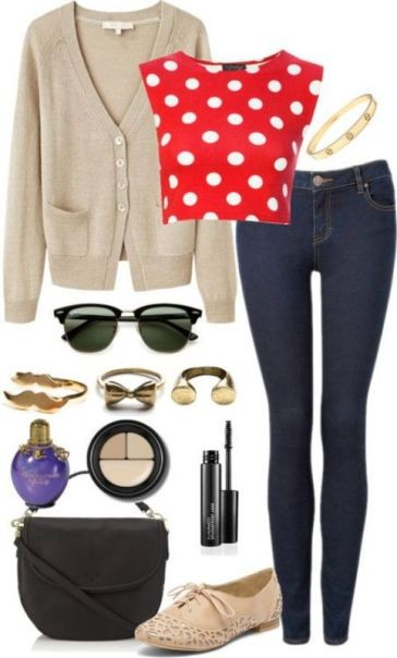 school-outfit-ideas-2 Fabulous School Outfit Ideas for Teenage Girls 2017/2018