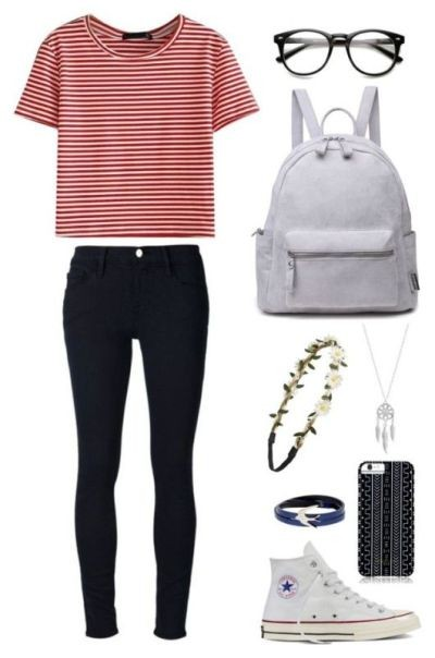 school-outfit-ideas-20 Fabulous School Outfit Ideas for Teenage Girls 2020